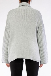 Rehab High Low Sweater - Back cropped