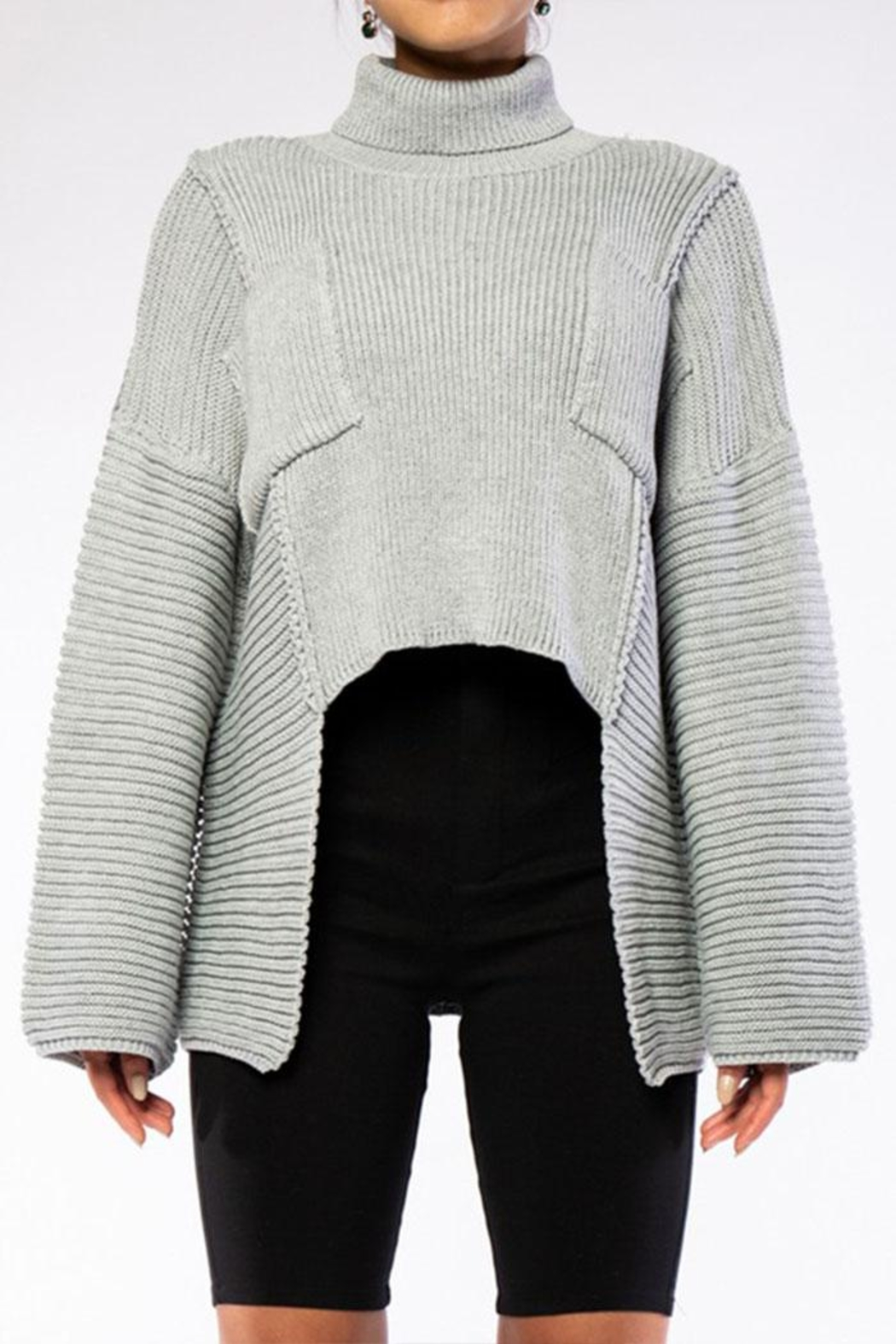 Rehab High Low Sweater - Main Image