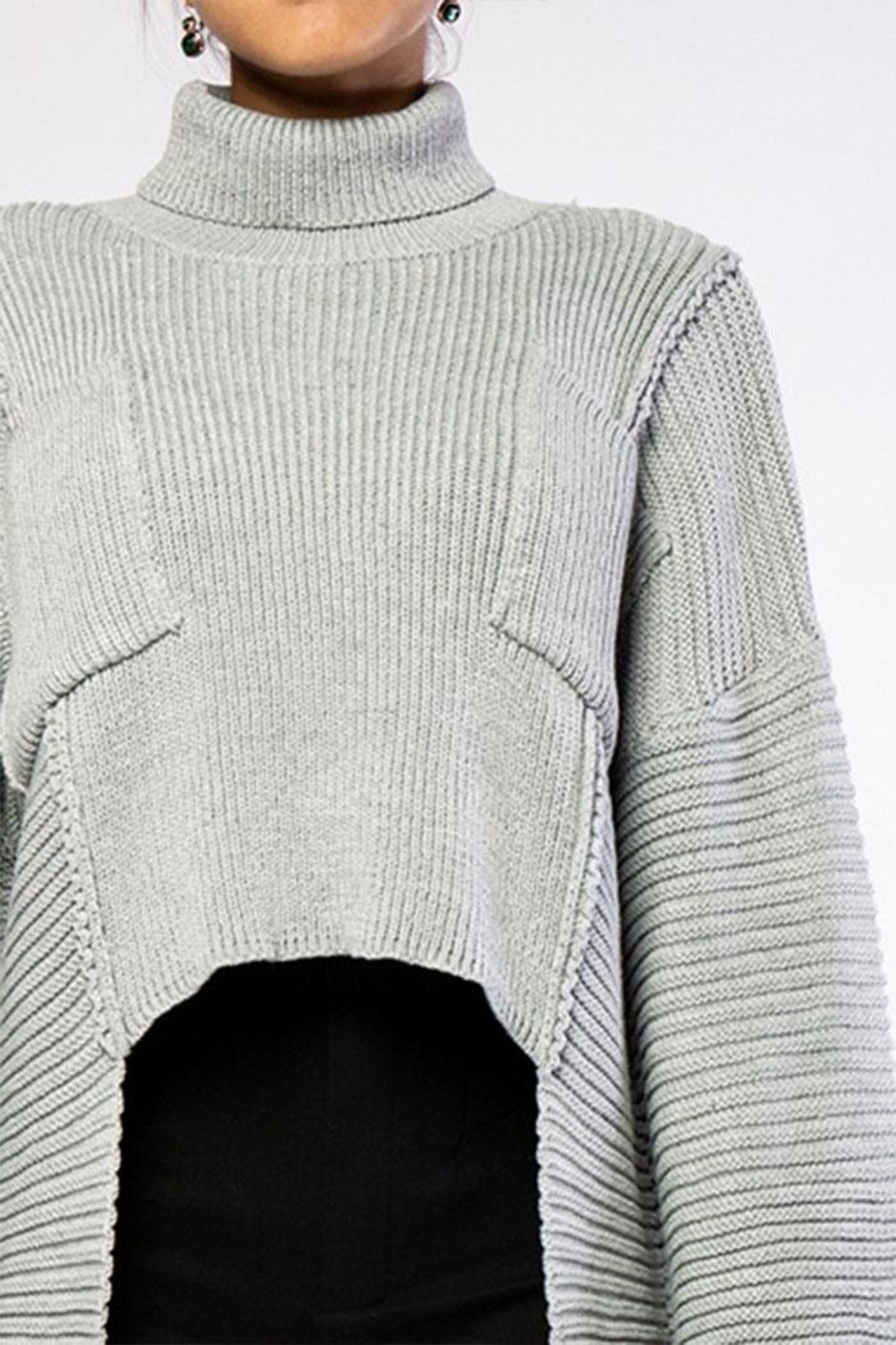 Rehab High Low Sweater - Front Full Image