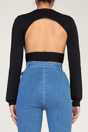 Rehab Open Back Top - Side cropped