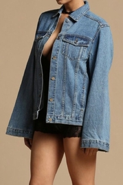 Rehab Signature Denim Jacket - Side cropped
