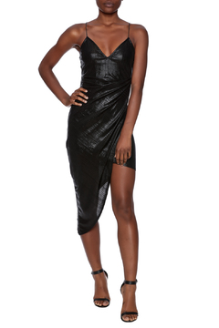 Rehab V-Neck Fitted Dress - Product List Image