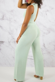 Rehab Wide Leg Jumpsuit - Side cropped