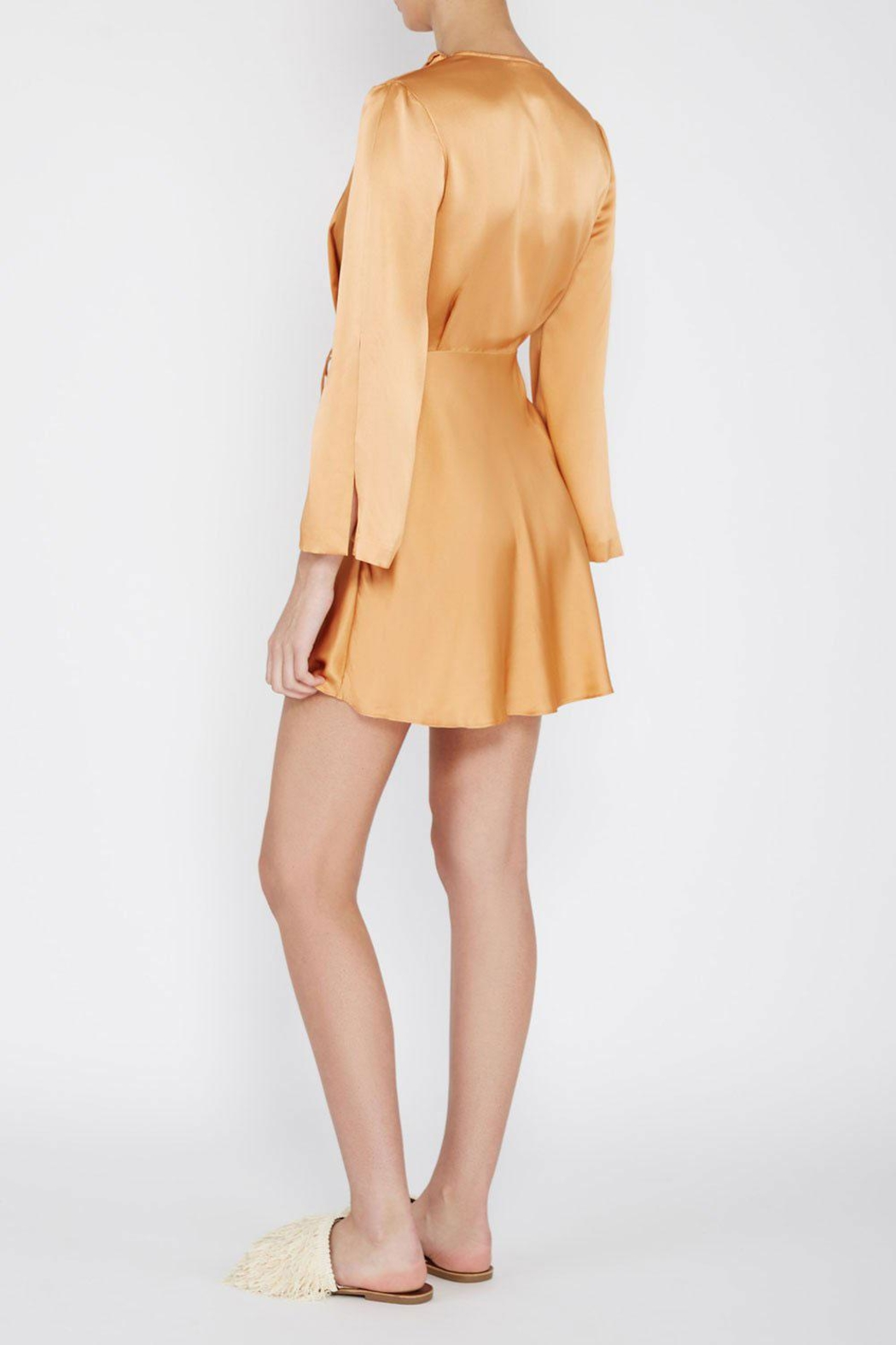 Acler Reid Wrap Dress - Side Cropped Image