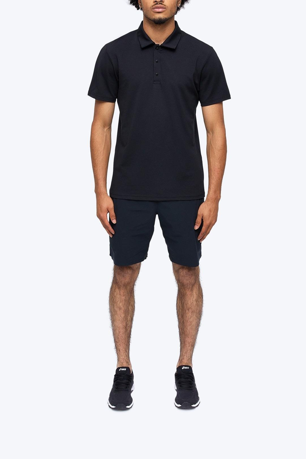Reigning Champ Men's Polartec Delta Polo - Side Cropped Image
