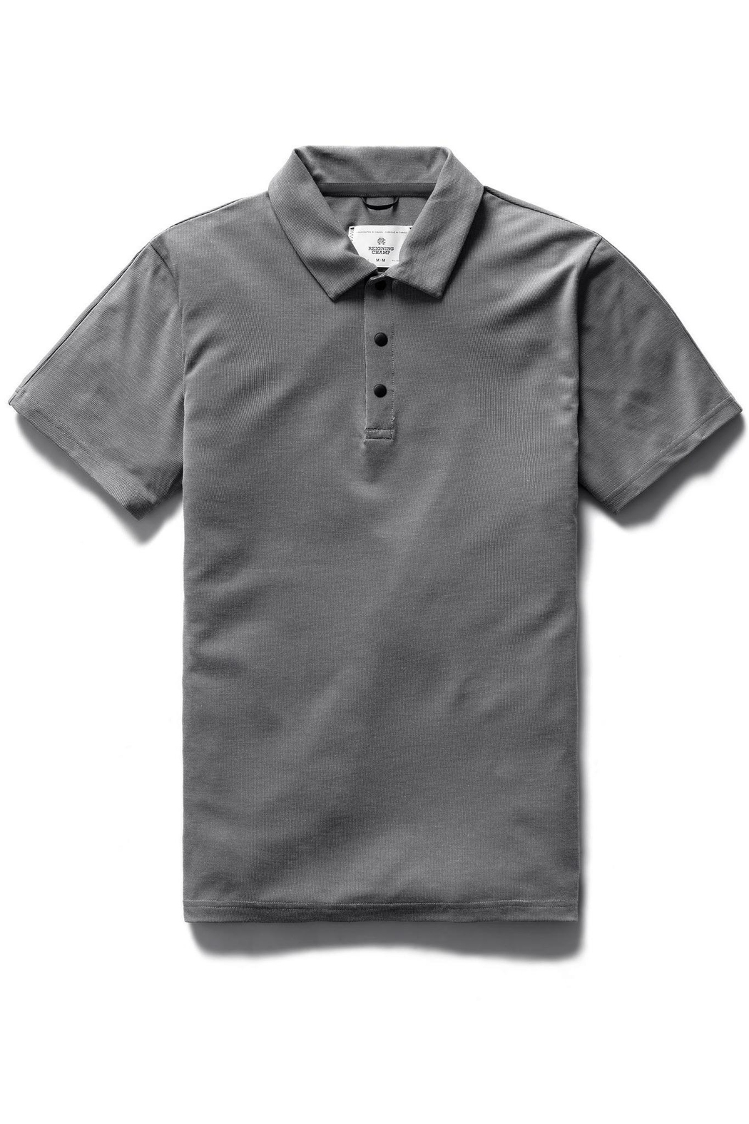 Reigning Champ Men's Polartec Delta Polo - Front Cropped Image