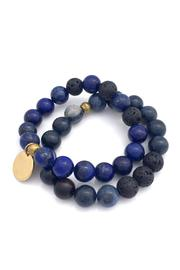 Reija Eden Jewelry Blue Bracelet Set - Product Mini Image