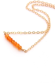 Reija Eden Jewelry Carnelian Necklace - Front cropped