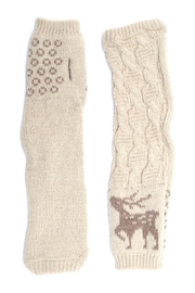 Urbanista Reindeer Arm Warmers - Product Mini Image
