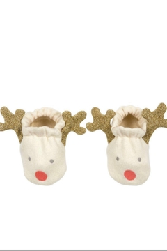 Shoptiques Product: Reindeer Baby Booties (0-6 months)