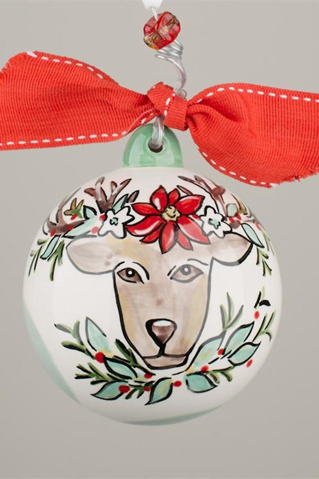 Glory Haus Reindeer Ball Ornament - Main Image