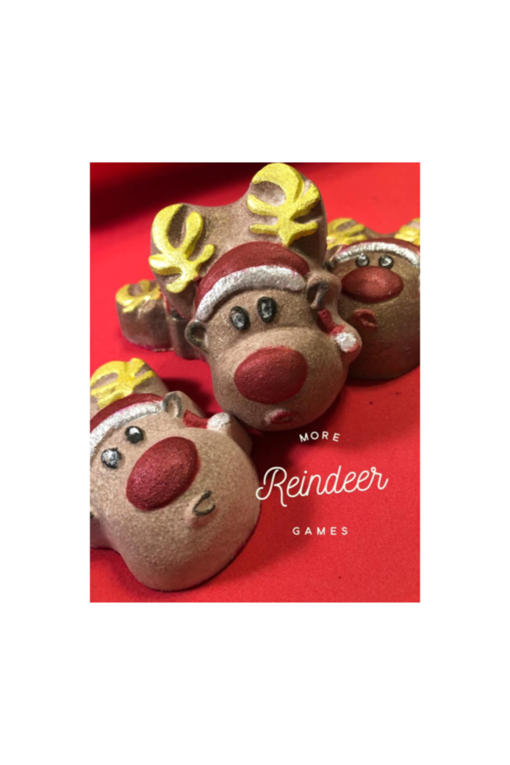 The Birds Nest REINDEER BATH BOMBS - Main Image