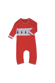 Angel Dear  Reindeer Fair Isle Coverall - Front cropped