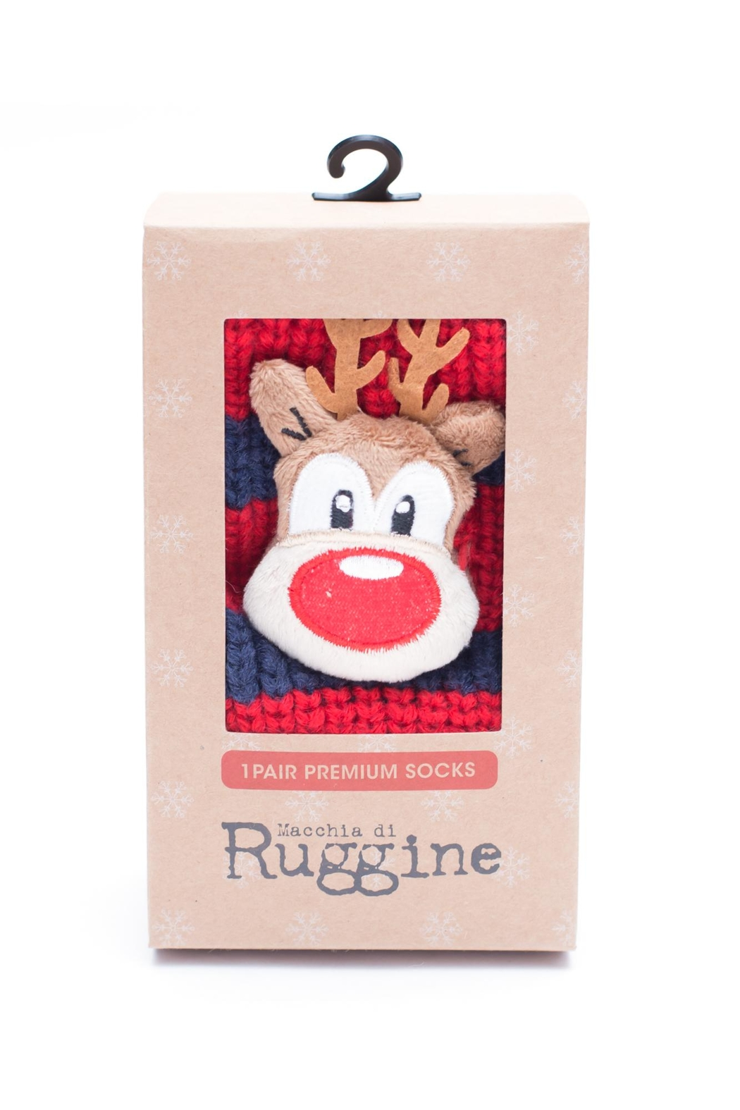 Ruggine Reindeer Sleep Socks - Main Image