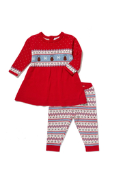 Angel Dear  Reindeer Tunic and Leggings - Front cropped