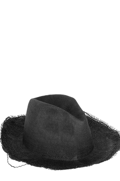 Reinhard Plank Charcoal Straw Hat - Product List Image