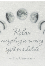 Ganz Gifts Relax Plaque - Product Mini Image
