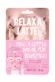 Fashion Angels Relaxa Latte Face Mask - Product Mini Image