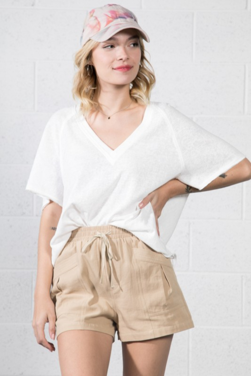 Very J  Relaxed Basic Tee - Main Image
