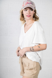 Very J  Relaxed Basic Tee - Front full body