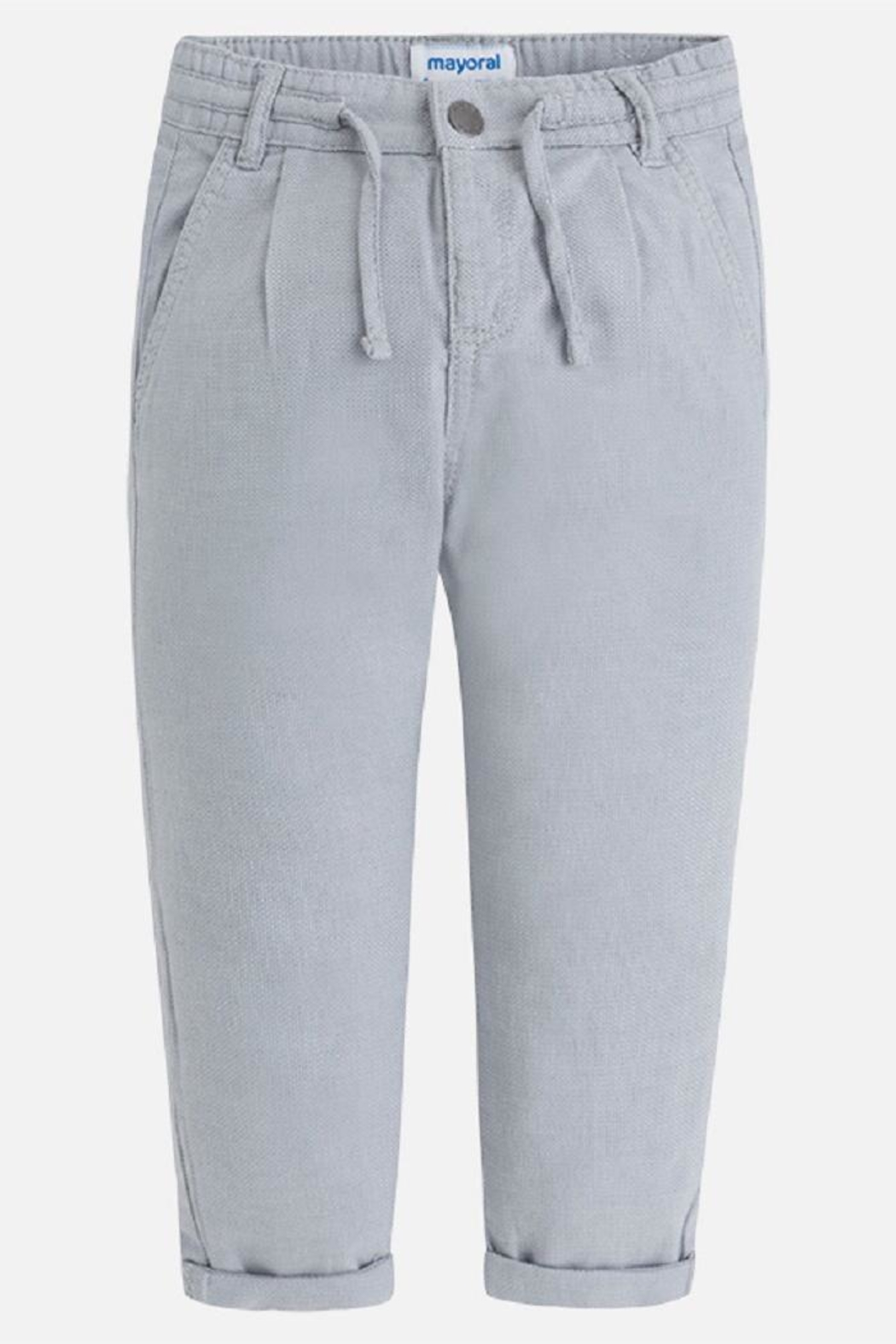 Mayoral Relaxed Chino Pant - Front Cropped Image