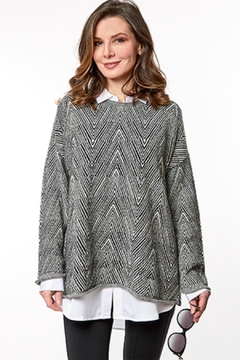 Shoptiques Product: Relaxed Cotton Sweater