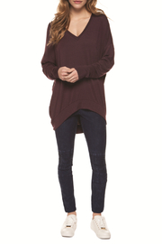 Dex Relaxed Cozy V-Neck Sweater - Product Mini Image