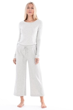 Paper Label Relaxed Cropped Pant - Alternate List Image