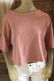 Splendid Relaxed Cropped Tee - Product Mini Image