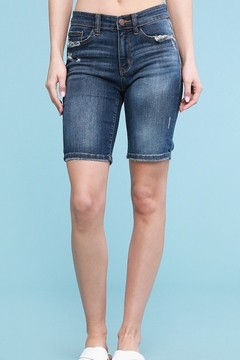 Judy Blue Relaxed Denim Bermuda Short - Product List Image