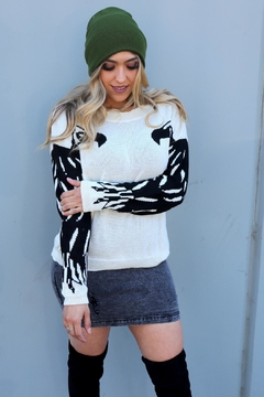 Minx Relaxed Eagle Sweater - Product List Image