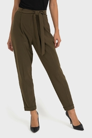 Joseph Ribkoff Relaxed Fit Belted Pant - Product Mini Image