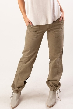 Lovestitch Relaxed Fit Canvas Pant - Product List Image