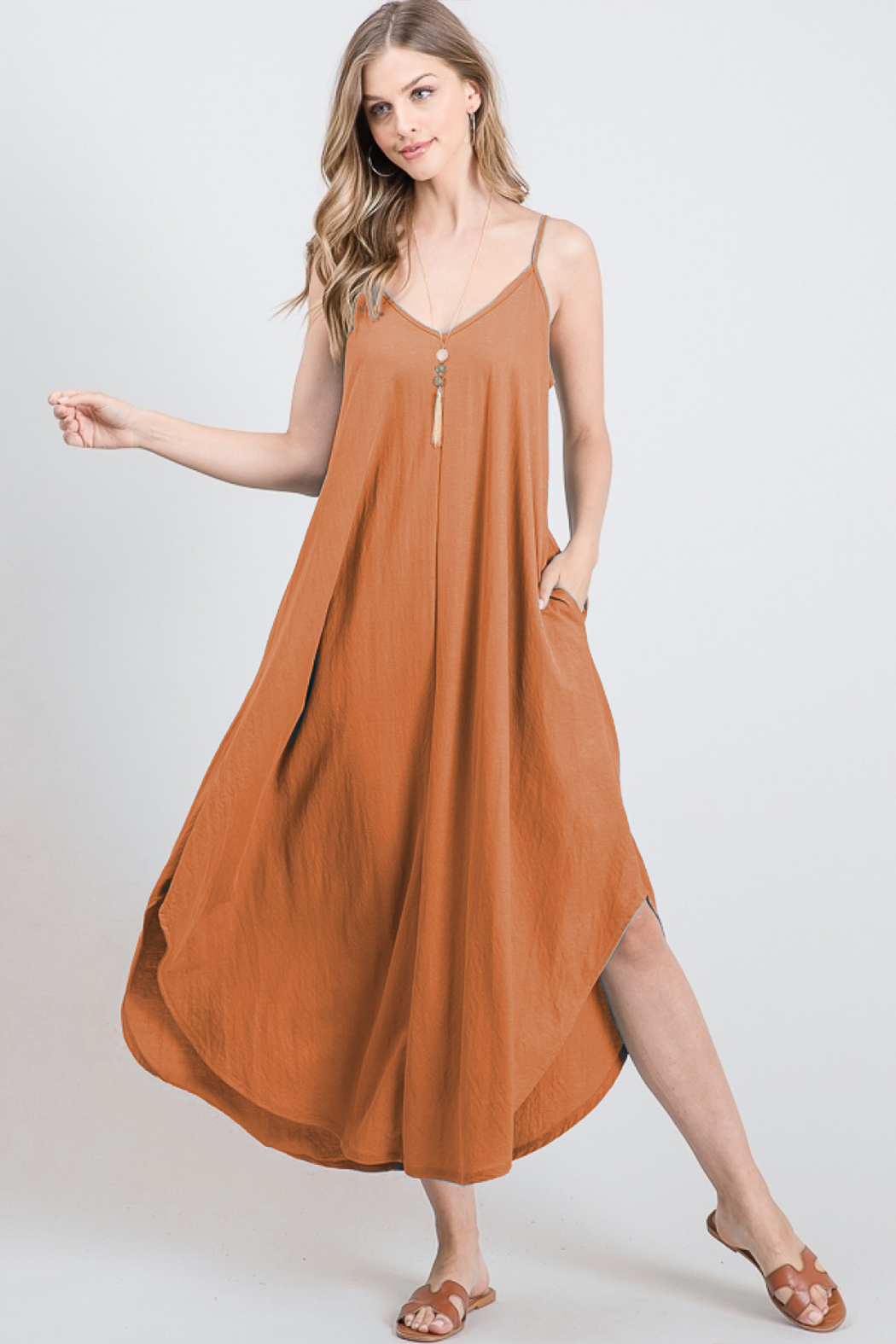 Tres Bien Relaxed Fit Dress - Main Image