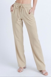 Love Tree Relaxed-Fit Linen Pants - Product Mini Image