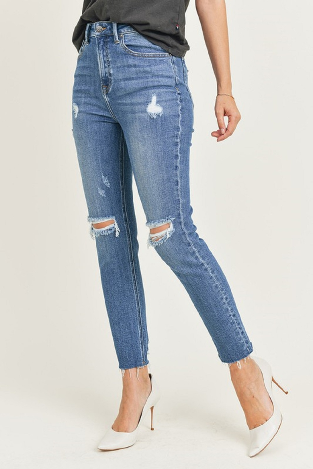 Risen Relaxed Fit Skinny - Side Cropped Image