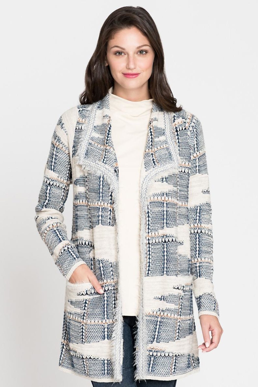 Nic + Zoe Relaxed Fit Sweater - Main Image