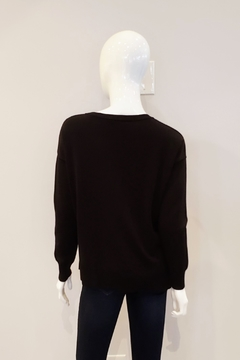UNWINE Relaxed Fit Sweater, Black - Alternate List Image