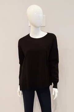 Shoptiques Product: Relaxed Fit Sweater, Black