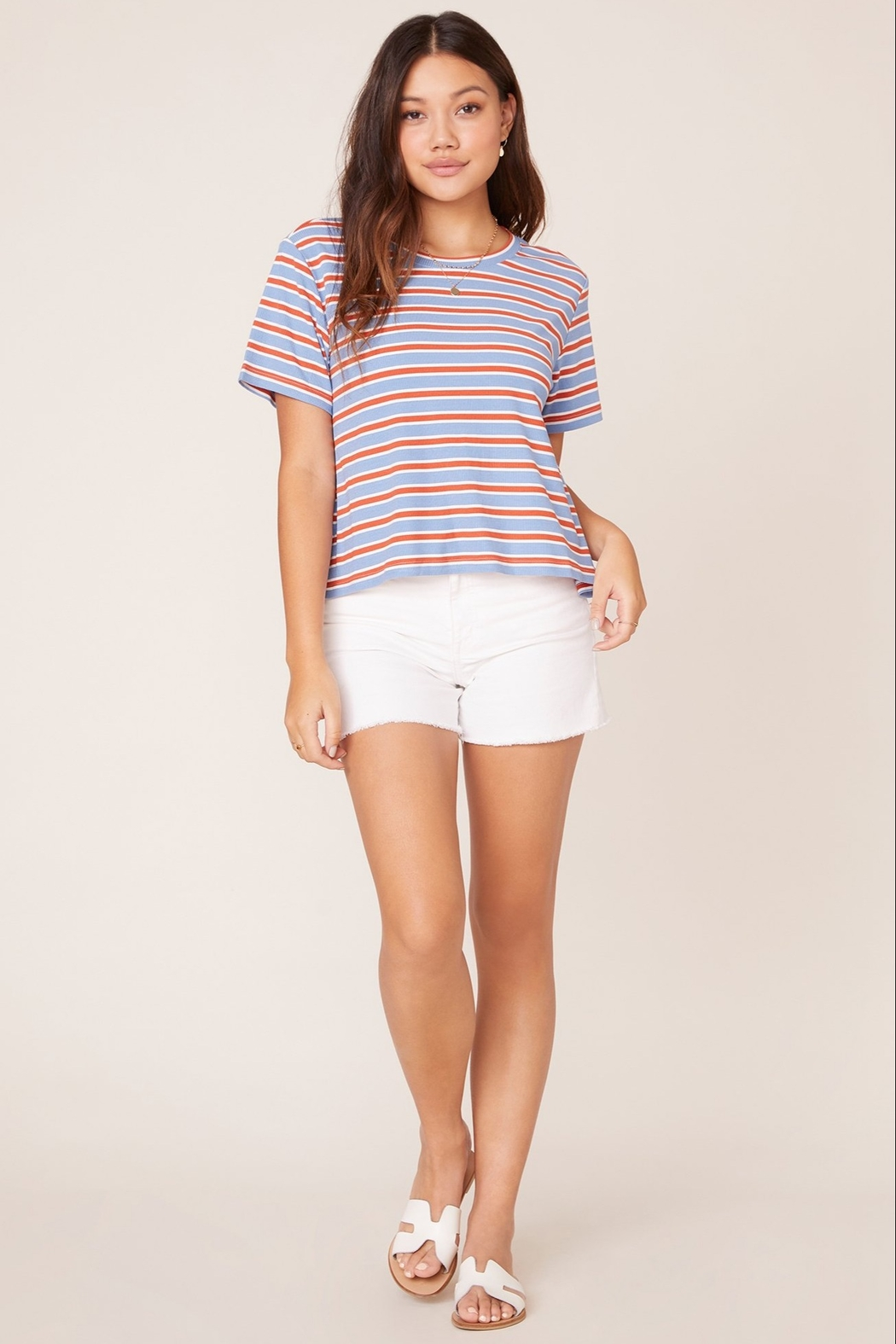 BB Dakota Relaxed Fit Tee - Side Cropped Image