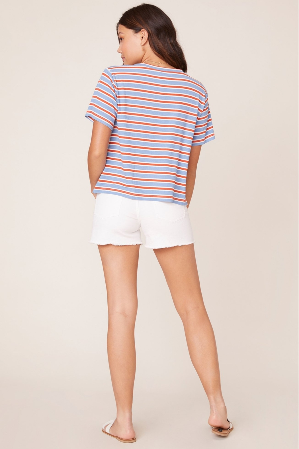 BB Dakota Relaxed Fit Tee - Back Cropped Image