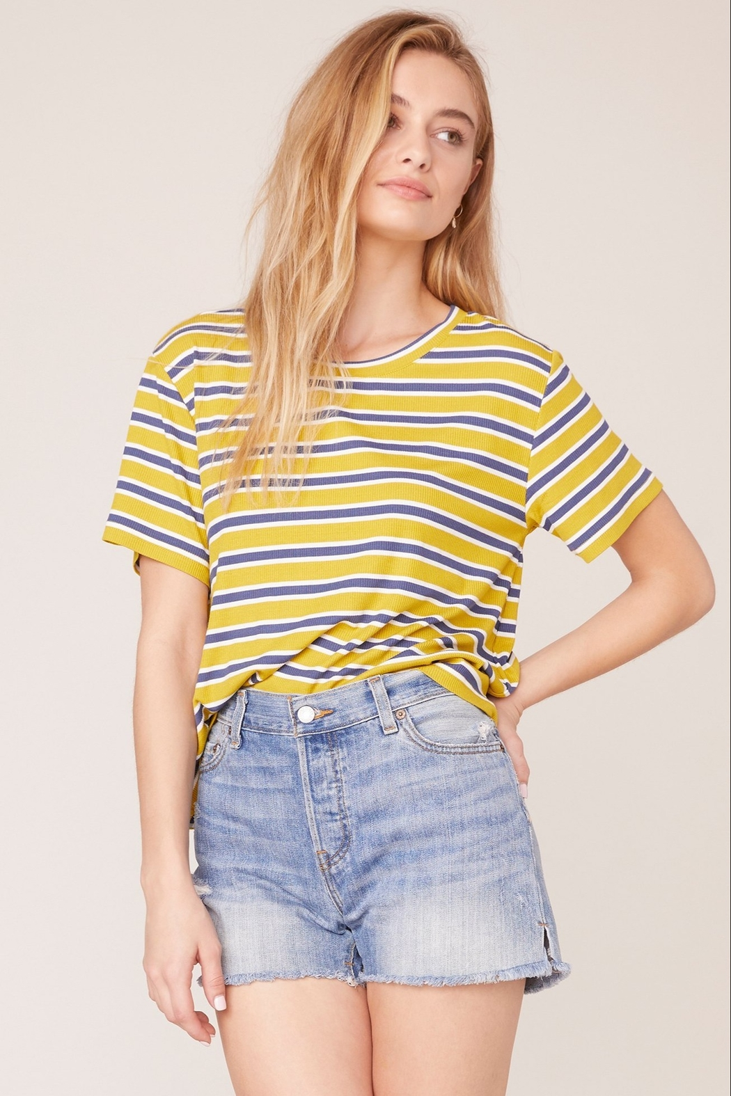 BB Dakota Relaxed Fit Tee - Front Cropped Image