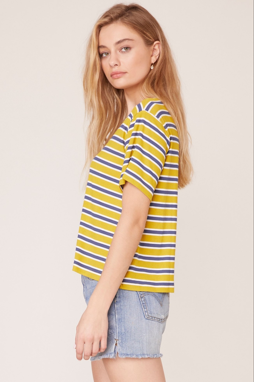 BB Dakota Relaxed Fit Tee - Front Full Image