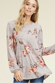 bombom Relaxed Floral Tee - Product Mini Image