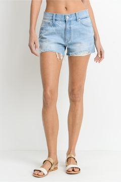 Just USA Relaxed Frayed Shorts - Product List Image