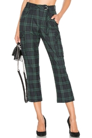 Free People Relaxed Plaid Cargo - Product Mini Image