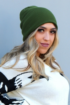 Minx Relaxed Solid Beanie - Product List Image
