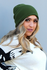 Minx Relaxed Solid Beanie - Product Mini Image