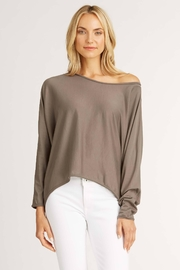 Indigenous Relaxed Tee Pullover - Front full body