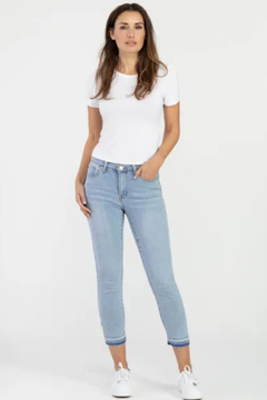 Tribal  Released Hem Cropped Jean - Product List Image
